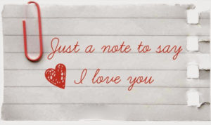 i love you letters