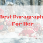 Paragraphs For Her